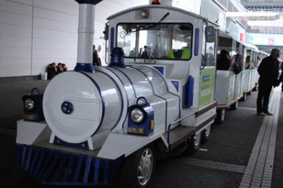 patit train, Salon de l'Agriculture 2012