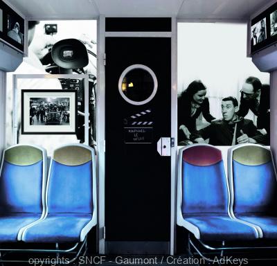 Le train du Cinéma : une exposition itinérante inédite