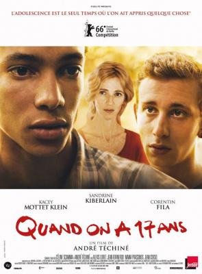 Quand on a 17 ans, le nouveau film d'André Téchiné