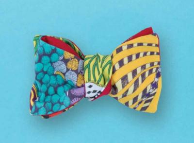 Cinabre : des cravates, nœuds papillons et boutonnières