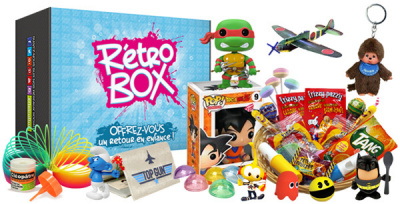 La Rétro box : un cadeau pour les éternels nostalgiques