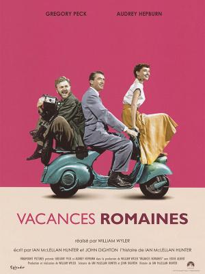Food & Cinéma : projection de Vacances romaines au Café de la Presse