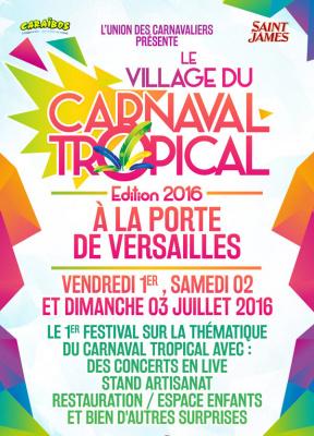 Festival : le Village du Carnaval Tropical