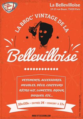La Broc' Vintage de la Bellevilloise