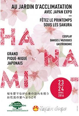 Hanami : pique-nique nippon au Jardin d'acclimatation
