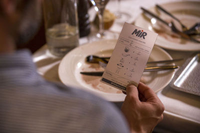 Mir Restaurant 2 : addition en liquide vaisselle