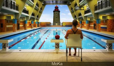 Moka expo itin rante dans les piscines parisiennes for Piscine didot aquagym