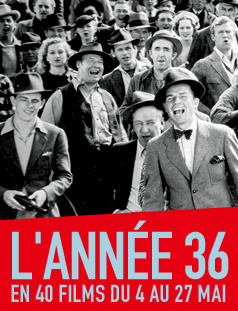 L'année 36 en 40 films au Forum des Images