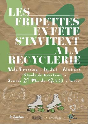 Les Fripettes en Fête à la REcyclerie