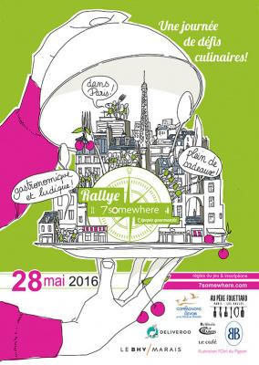 Rallye gourmand le samedi 28 mai