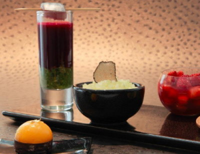Bar éphémère Healthy à l'Hôtel de Vendôme