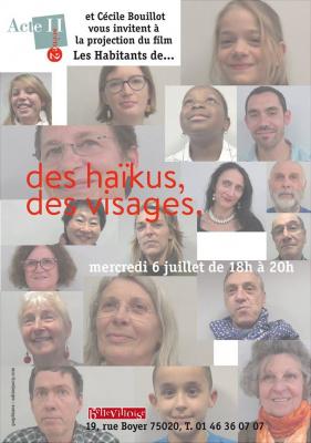 Les Habitants de... : le haïku à l'honneur à la Bellevilloise