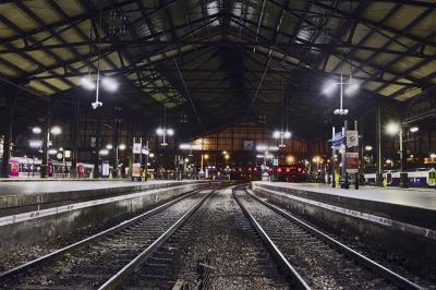 Soirée électro la Concrete à la Gare Saint-Lazare