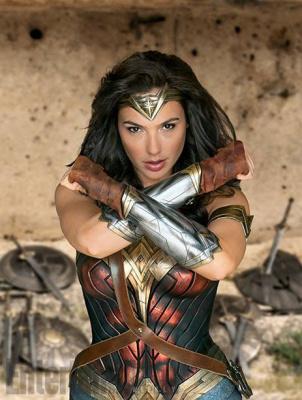 Wonder Woman avec Gal Gadot : des photos inédites du tournage