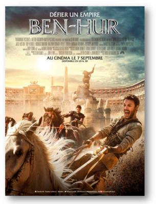 Ben-Hur : affiche officielle et bande-annonce