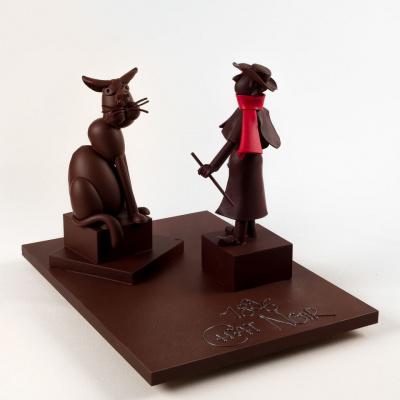 Influences : une expo éphémère en chocolat