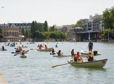 Paris Plages 2016 : base nautique gratuite sur le Bassin de la Villette