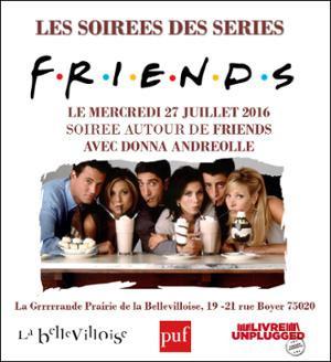 Soirée Friends à la Bellevilloise