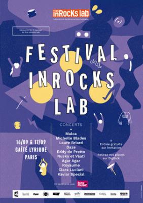 Festival inRocks Lab à la Gaité Lyrique