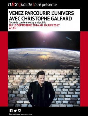 Découverte de l'Univers avec Christophe Galfard au Mk2 Quai de Loire
