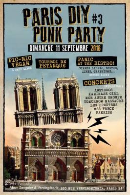 Paris DIY Punk Party