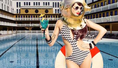 Plongée & Drink à la piscine Molitor