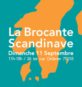 La Brocante Scandinave au Grand Train