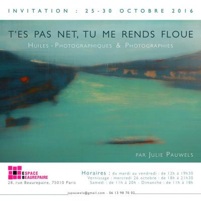 T'es pas net tu me rends floue : l'expo photo de Julie Pauwels