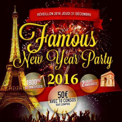 Réveillon Redlight Famous New Year Party 2016