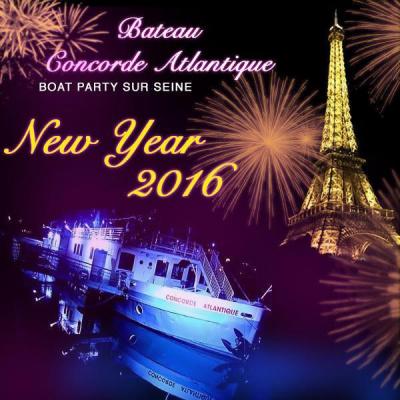 REVEILLON BOAT PARTY 2016 AU CONCORDE ATLANTIQUE