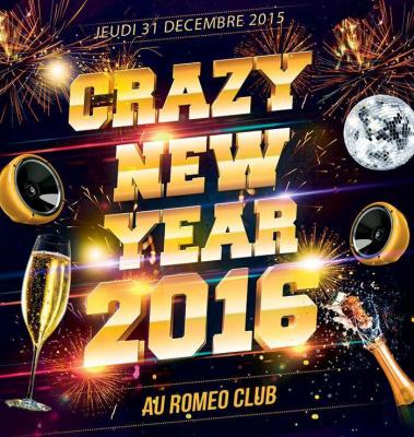 CRAZY NEW YEAR 2016 QUARTIER LATIN