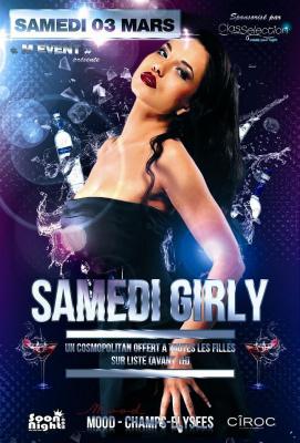 • SAMEDI GIRLY @ Mood (Champs-Elysées) •