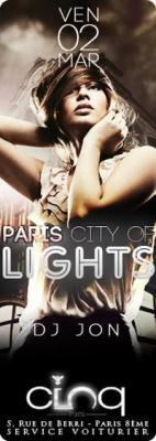 PARIS CITY OF LIGHTS @ LE CINQ