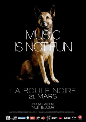 Music Is Not Fun + Aline