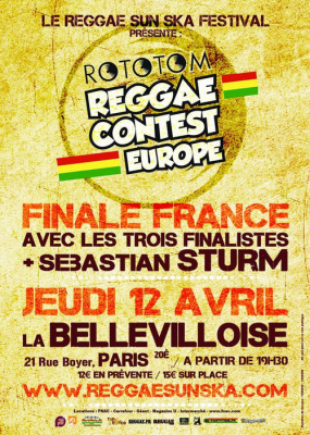 Finale France de l'European Reggae Contest!