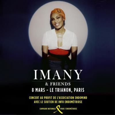 IMANY & FRIENDS en concert au Trianon le 08/03/2016
