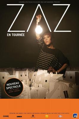ZAZ en concert au Zénith de Paris le 09/11/2016