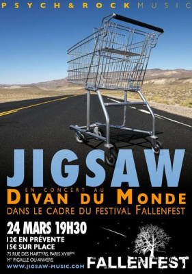Jigsaw + guests @ Divan du Monde (festival Fallenfest)