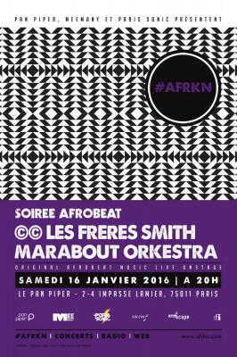 #AFRKN : Soirée afrobeat