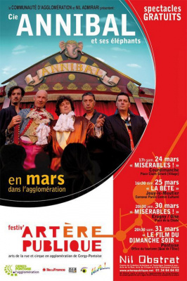 Cie Annibal et ses éléphants - 3 spectacles loufoques, 4 dates à ne pas manquer !