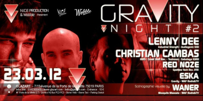 Gravity Night w/ Lenny Dee & Christian Cambas