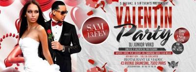 Soirée Dîner Saint-Valentin Party Club PARIS