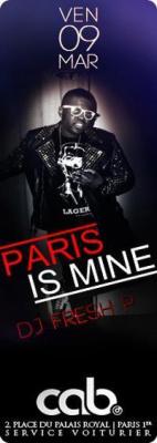 PARIS IS MINE @ LE CAB