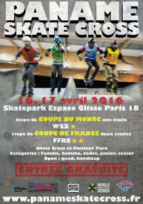 La Paname Skatecross débarque à Paris