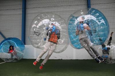 Le Bubble Football, un version déjantée du foot !