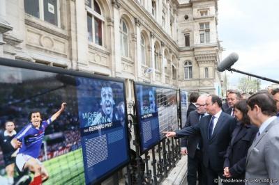 """L'expo """"Football de légendes, une histoire européenne"""""""