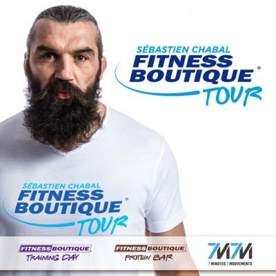 Le Fitness Boutique Tour avec Sébastien Chabal