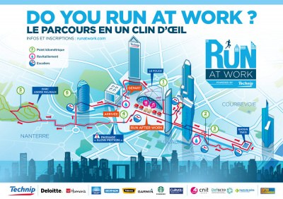 Run at Work est de retour à La Défense !