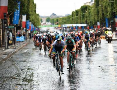 La Course By Le Tour de France 2016 sur les Champs Elysées