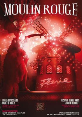 Féerie au Moulin Rouge : Gagnez un dîner-spectacle pour 2 personnes !